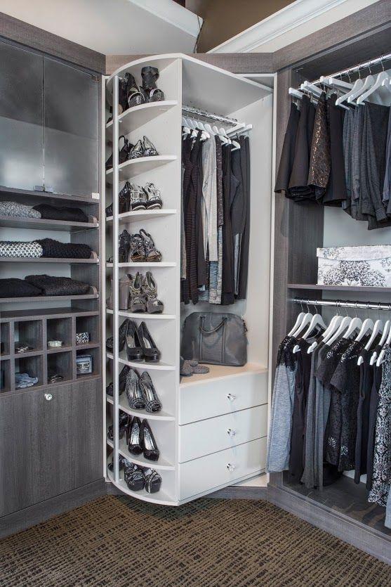 walk-in custom closets